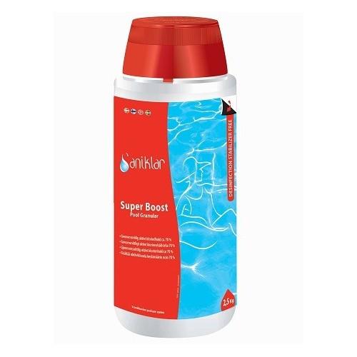 Super Boost Klor Granulat  2,5 kg