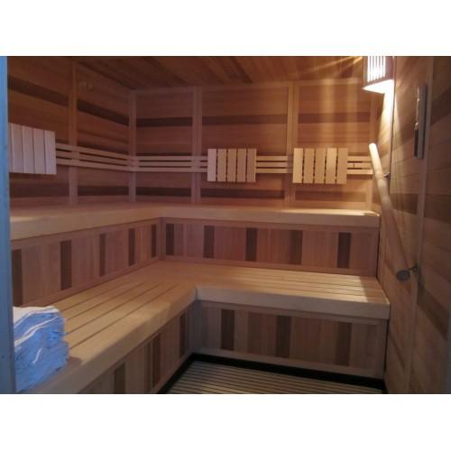 Opbygning af IR-sauna Ølstykke