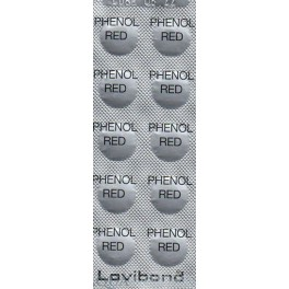 DPD pHenol red, pH-tab  10 stk
