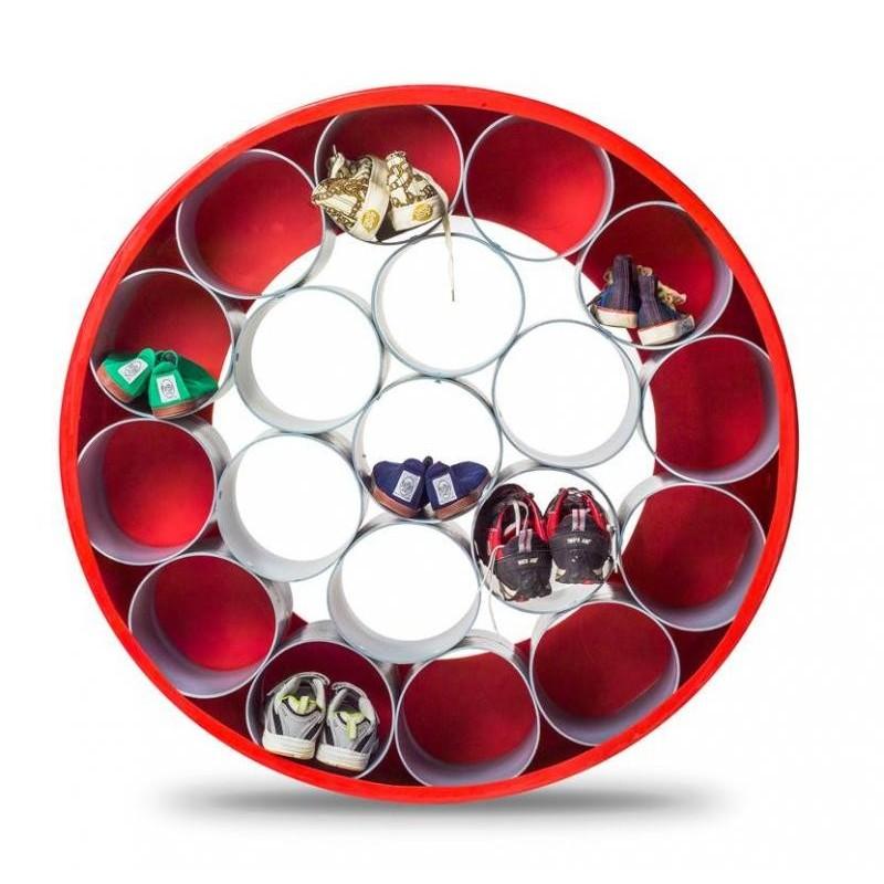 Muffe 25mm PVC