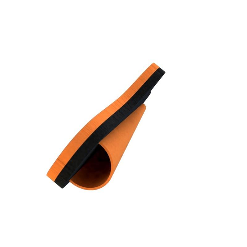 Muffe 75mm PVC