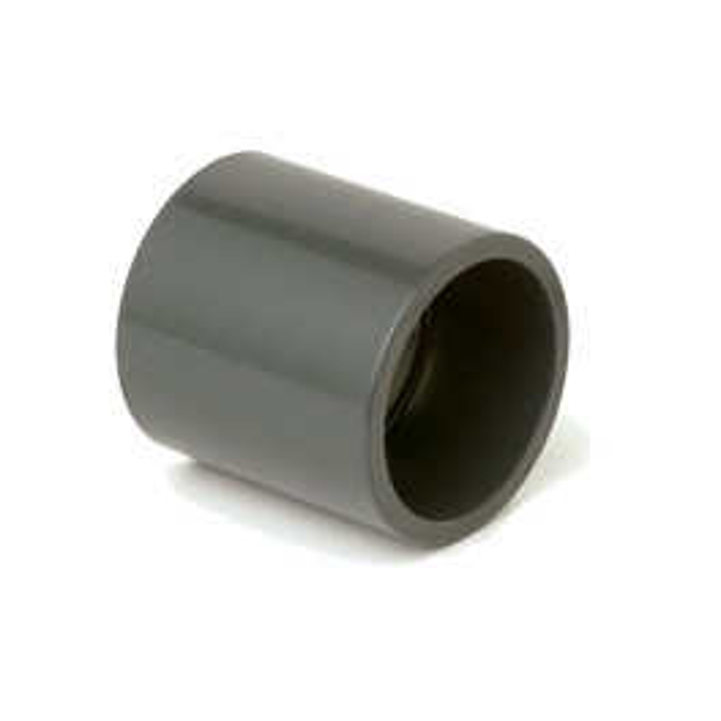 Muffe 110mm PVC