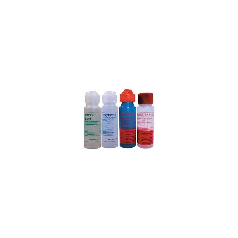 Swan DPD test væske. et sæt 4 flasker