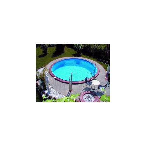 Milano - rund pool Ø4,16m. 1,5m dyb