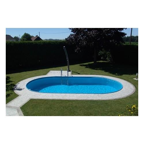Toscana Pool - Mål 3,20 x 5,25m x 1,5m
