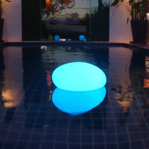 Flydende Pebble LED lamp 32 x 16cm