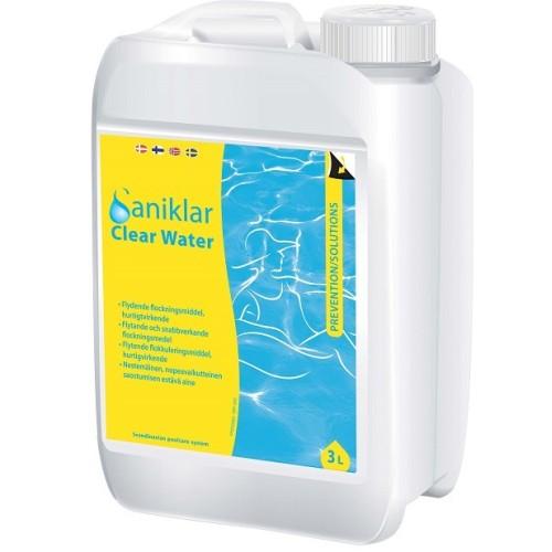Saniklar Clear Water, klaringsvæske  3 liter