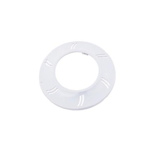 Plastik flange Adagio, hvid.