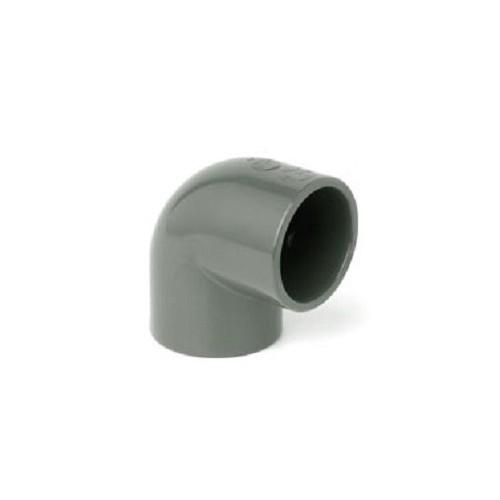 Vinkel 12mm PVC 90 Grader