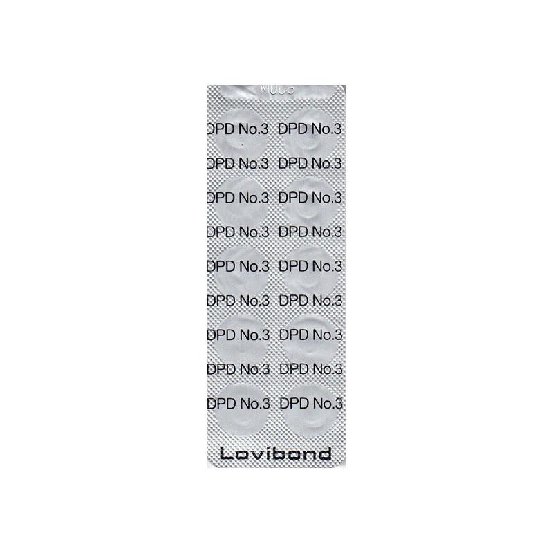 DPD nr. 3, Total klor  500 stk