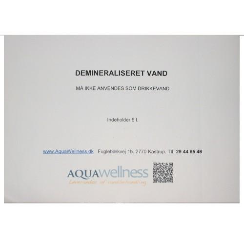 Demineraliseret vand 5 L.