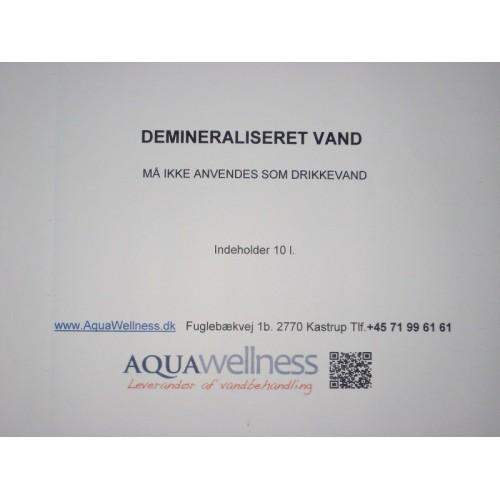 Demineraliseret vand 10 L.