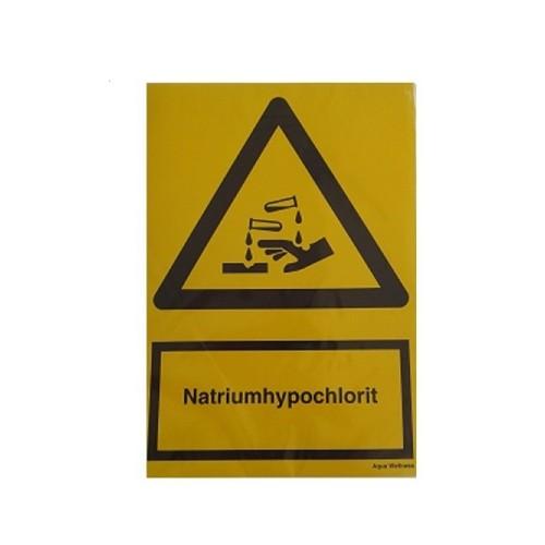 Fare mærke, Natriumhypoklorit. størrelse A4