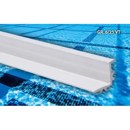 DEPA Overløbsrist GR2, H22 mm x B(vælg) x L1000 mm