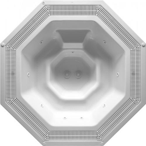 AQW Spa 2780x2780mm. 7 personer