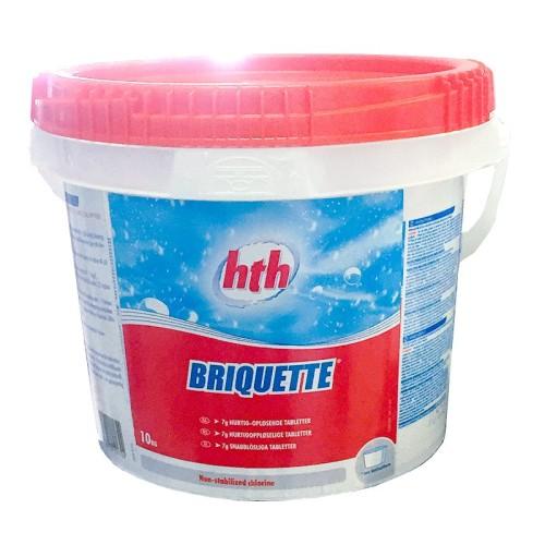 HTH Briquette 7g tabletter - 10 kg