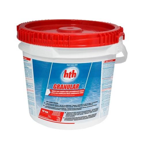 HTH - Klor Granulat  10 kg.