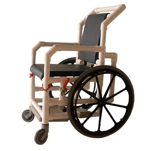 Handicap badestol/kørestol til svømmehal - PVC plast
