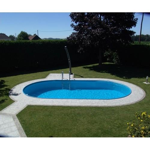 Toscana Pool - Mål 3,20 x 5,25m x 1,2m